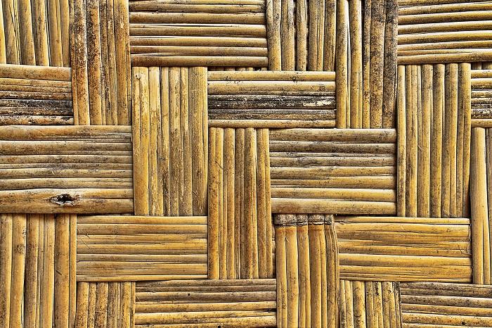 Bambusovy zahradny nabytok so stoličkami