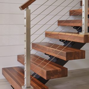 Štýlové schody do maleho priestoru